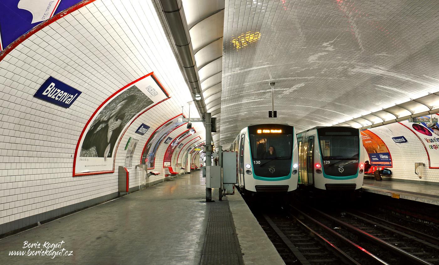 Станция «Бузенваль» линии 9